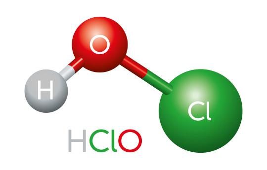 Hvad er hypochlorsyre, og hvor stammer det fra?